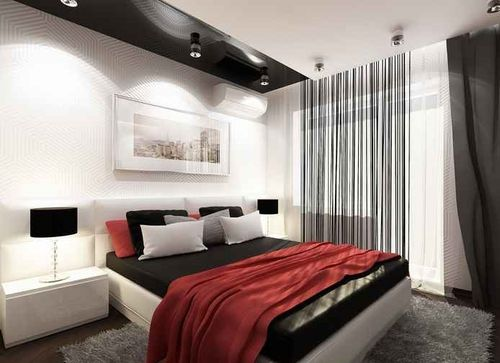 Дизайн спальни 15 кв