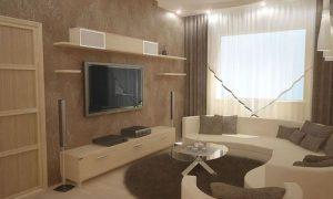 Продумываем интерьер гостиной 9 квадратных метров