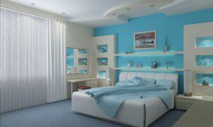 Планируем современный дизайн спальни 17 кв. м.