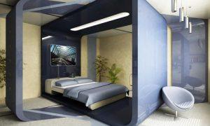 Как обустроить дизайн интерьера спальни 12 кв. м.