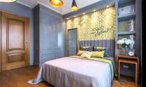 Идеи планировки интерьера спальни 13 кв. м.