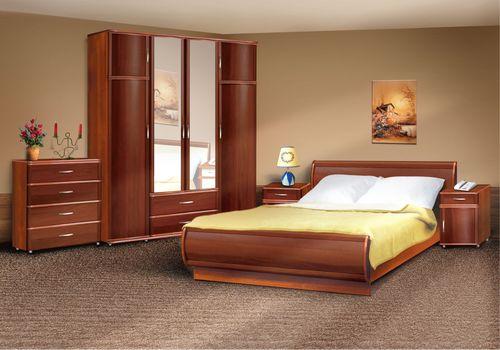 Интерьер спальни 14 кв