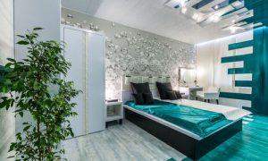 Продумываем дизайн и планировку спальни 14 кв. м.