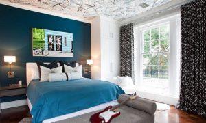 Креативный дизайн комнаты для молодого человека