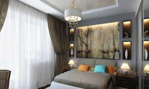 Идеи планировки крошечной спальни 4 или 5 кв. м.