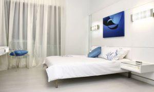 Делаем дизайн спальни в белых тонах