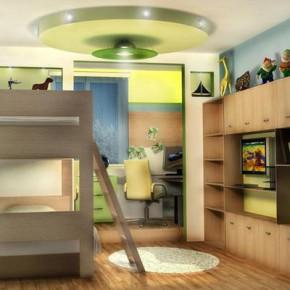 Какой должна быть детская комната 10 квадратных метров