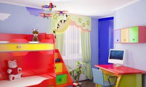 Варианты дизайна детской комнаты 9 кв. м. для мальчика и девочки