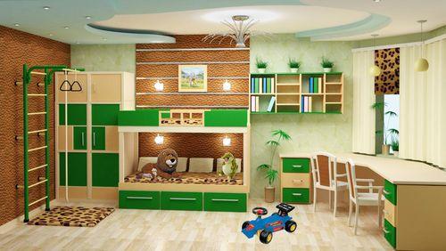 Дизайн детская 14 кв м дизайн фото