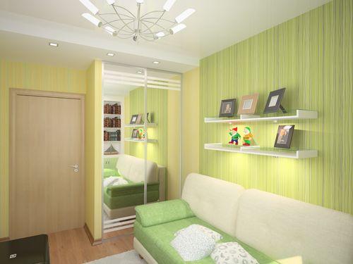 Дизайн комнаты 6 кв.м фото