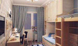 Идеи планировки детской комнаты 16-18 кв.м.