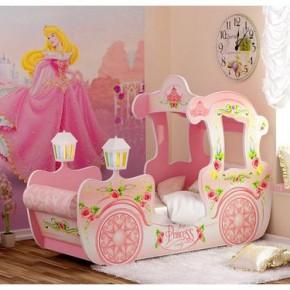 Мечте любой девочки - кровать-карета принцессы