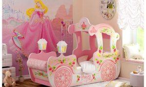 Мечте любой девочки — кровать-карета принцессы