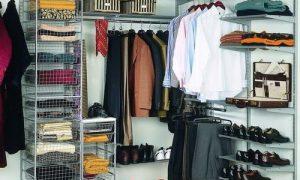 Какие системы хранения вещей для гардеробной бывают