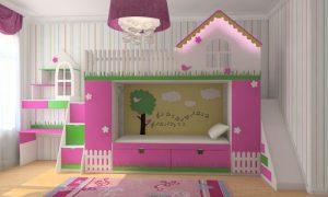 Какие бывают детские кровати в виде домика