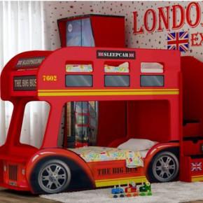 Выбираем для детской двухъярусную кровать-автобус