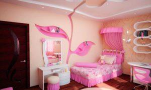 Идеи дизайна детской для девочки