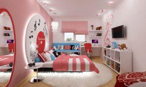 Современный дизайн комнаты для подростка девочки