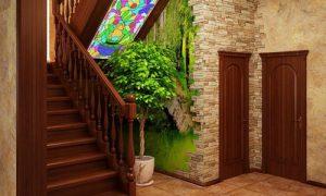 Коридор с лестницей: популярные варианты дизайна