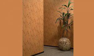 Как применять бамбуковое полотно для декорирования поверхности
