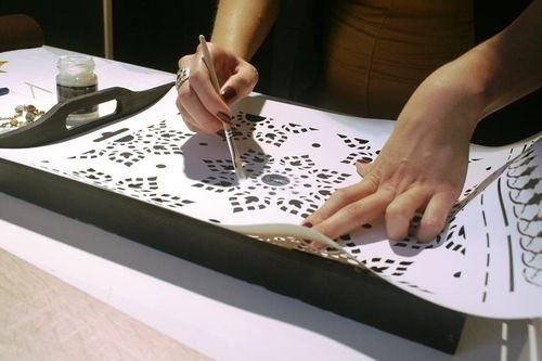 Изготовления трафарета своими руками