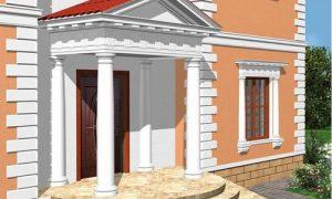 Виды фасадной лепнины в современном интерьере