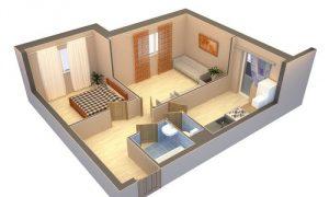 Как перепланировать квартиру с оптимальной расстановкой мебели