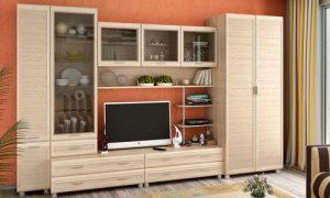 Мебель цвета дуб сонома в современном интерьере