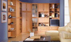 Применяем в интерьере мебель цвета ольха