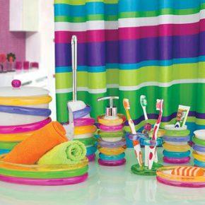 Популярные аксессуары для ванной комнаты и туалета