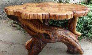 Предметы интерьера из дерева: особенности размещения и ухода
