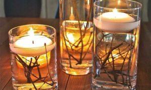 Используем свечи в интерьере как элемент декора
