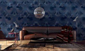 Декоративные интерьерные панели из различных материалов