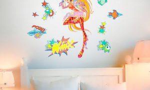 Как подобрать интерьерные наклейки на стену