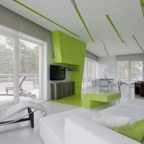 Как делать сочетание белого цвета в интерьере квартиры