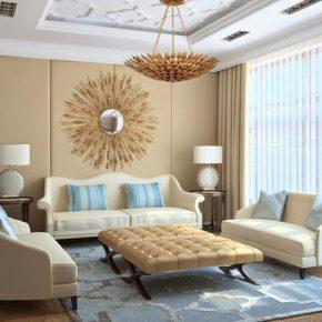 Сочетание бежевого цвета в интерьере комнат