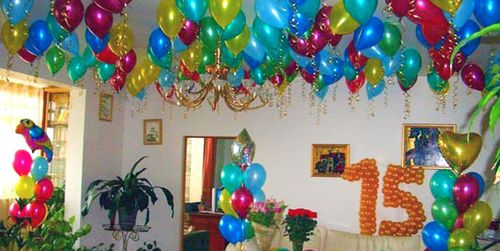 Как украсить комнату на день рождения своими руками 90
