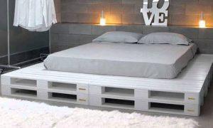 Инструкция как сделать кровать из поддонов