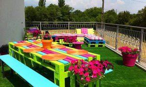 Как делать садовую мебель из паллет: варианты конструкций