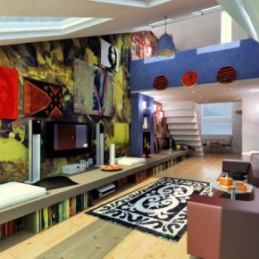 Используем стиль Авангард в интерьере: варианты оформления помещений