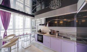 Интересные варианты освещения кухни различного дизайна