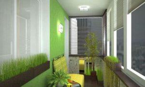 Как со вкусом обустроить балкон для отдыха и хранения