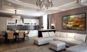 Как обустроить квартиру-студию в современном стиле
