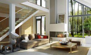 Современное оформление дома в стиле хай тек