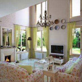 Как оформить дом в стиле прованс