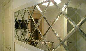 15 идей как сделать зеркальное панно на стену