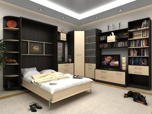 Разложенное спальное место