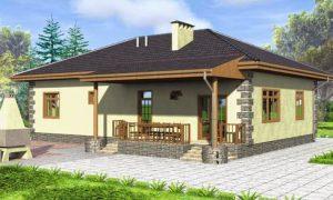 Особенности планировки и обустройства одноэтажного дома 10 на 10
