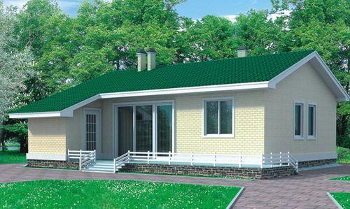 Дом для небольшой семьи
