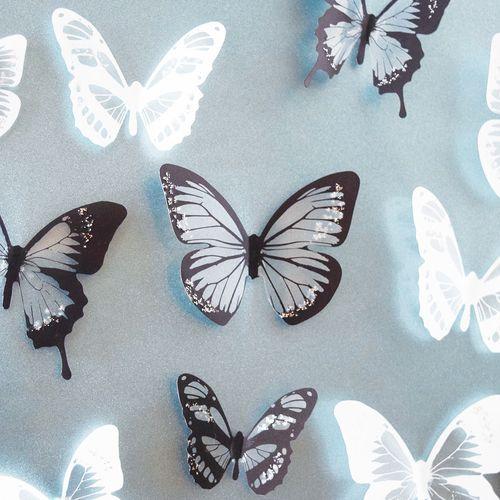 Группа бабочек
